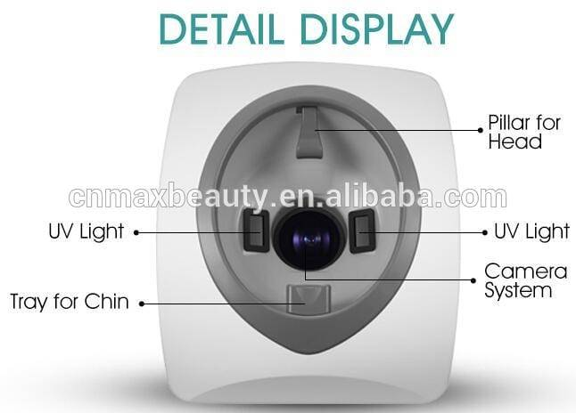 Max Beauty- Face Visia Skin Analysis Machine With Artistry Design-M-A103