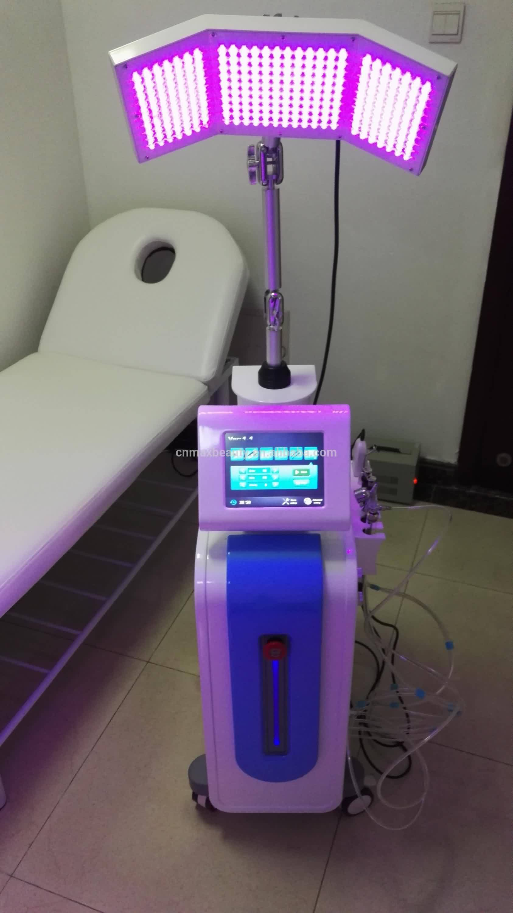 Face Lift Beauty Equipment with PDT led therapy for skin Rejuvenation and for youngest