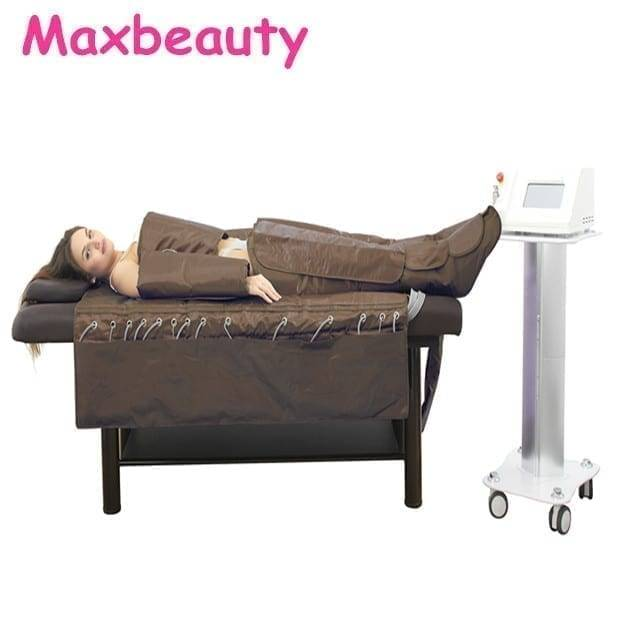 High quality 3 in 1 infrared body slimming suit EMS pressotherapy weight loss machine with blanket