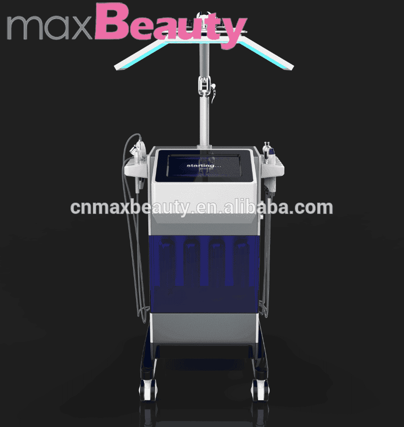 wholesale 8 in1 vertical multifunctional oxygen facial machine with 7 color PDT therapy