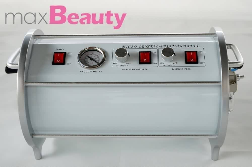 Portable beauty salon use skin peeling diamond crystal power microdermabrasion machine