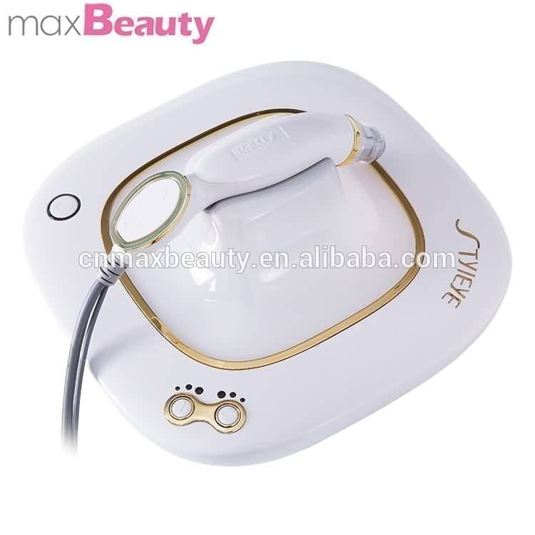 Home use facial messager RF golden eye pouch dark circle removal portable eye care beauty lifting device