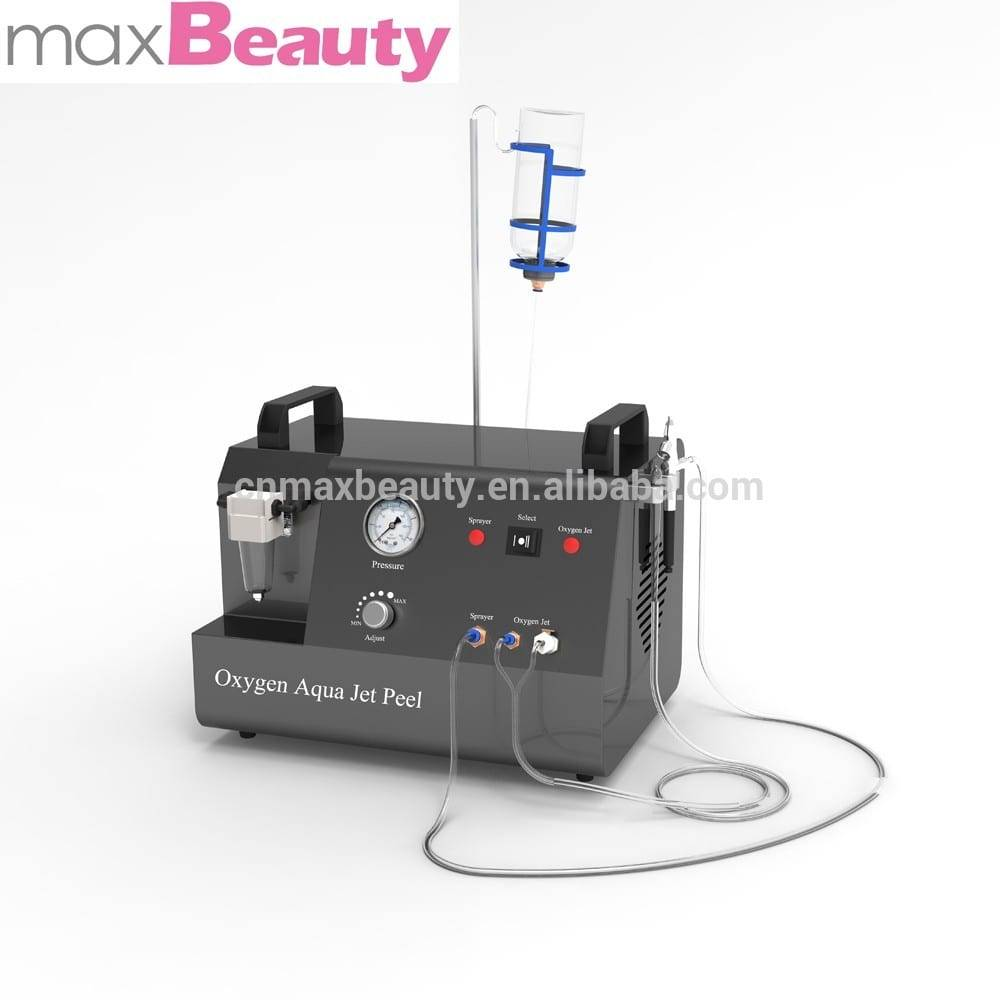 New water oxygen jet peel machine with spray and soft vacuum portable mircrodermabrasion cleaning machine