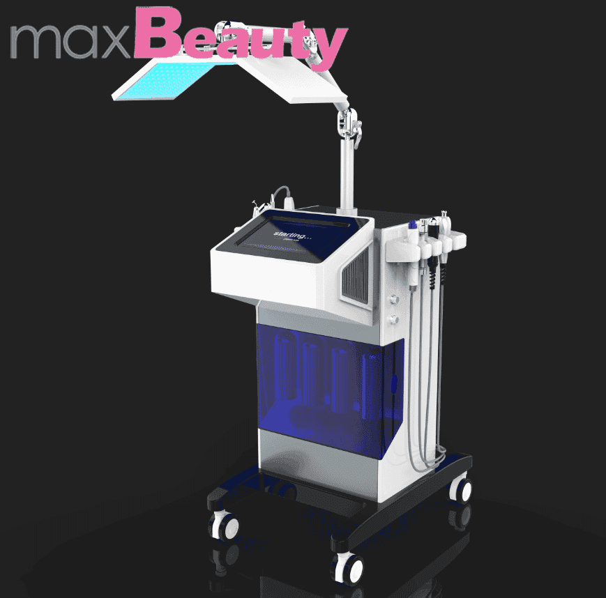 8in1 aqua machine PDT led threapy essence infusion 7 colours led light Acne treatment water dermabersion for