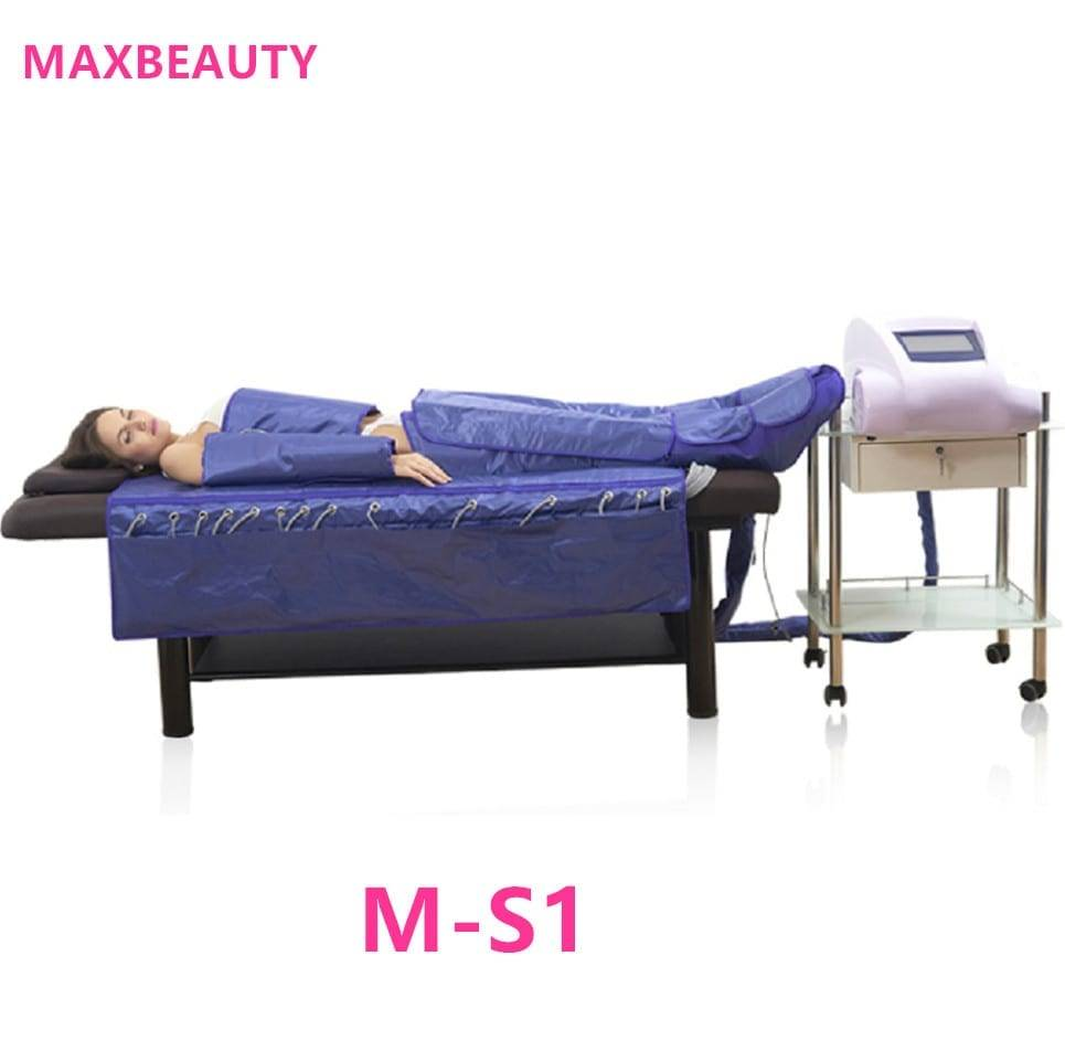 M-S1 air pressure body slimming suit massage electric muscle stimulator suit