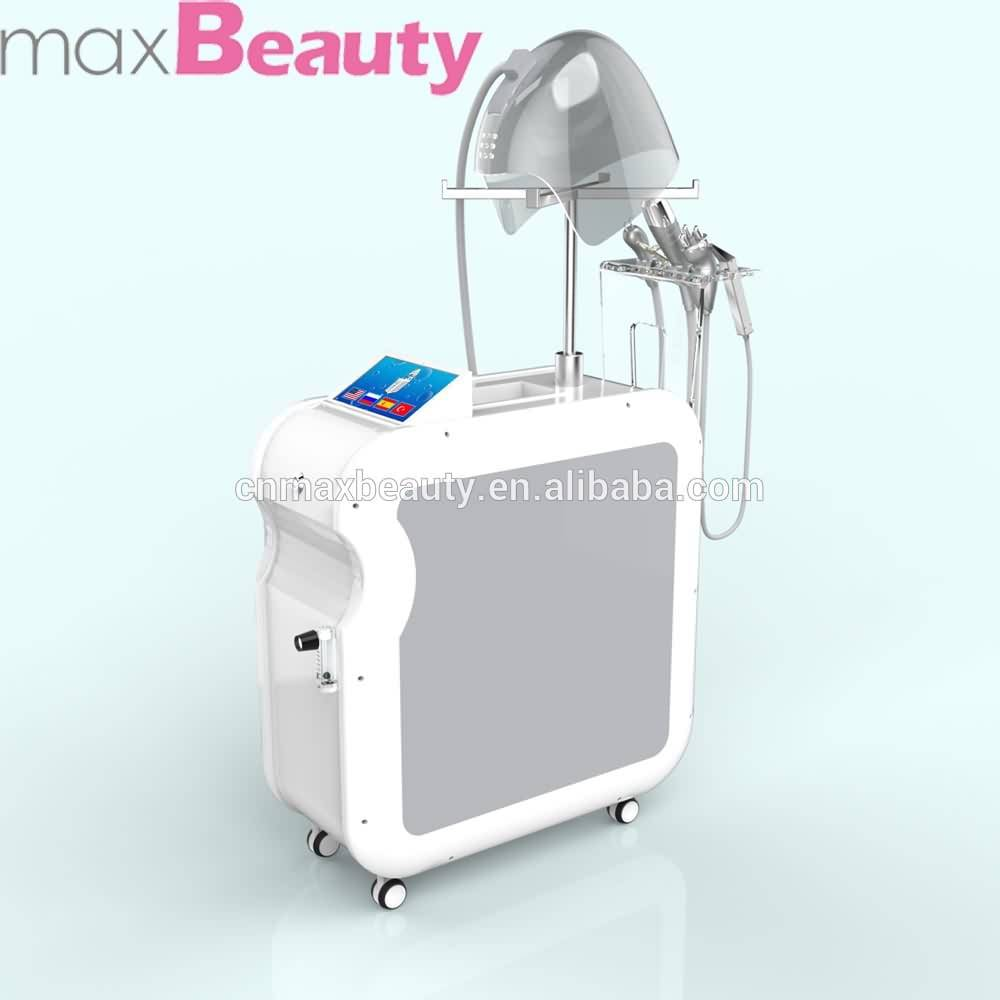 Excellent oxygen jet peel system RF Led digital therapy oxygen facial machine for wriknle remove Oxygen spray for face & hair