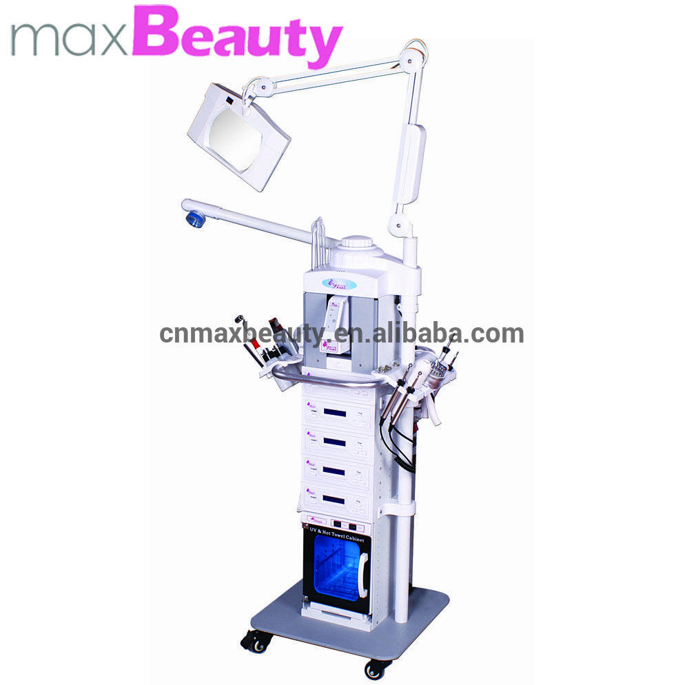 19 in 1multi-function facial machine galvanicmachine hot & cold hammer /ultrasonic /Microdermabrasion /skin scrubber