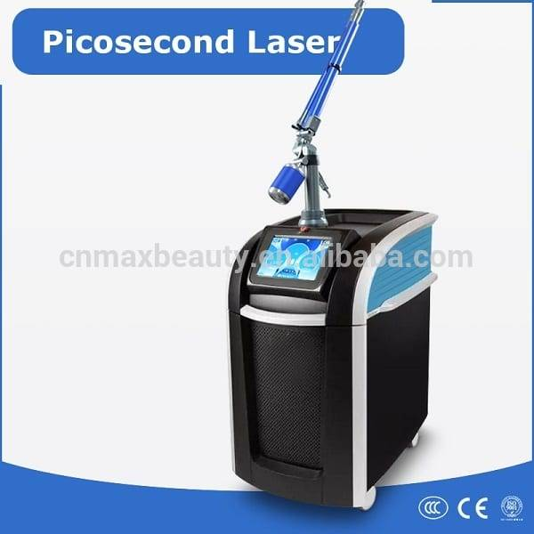 Maxbeauty Newest technology pico laser picosecond q switch for painless tattoo removal spot removal