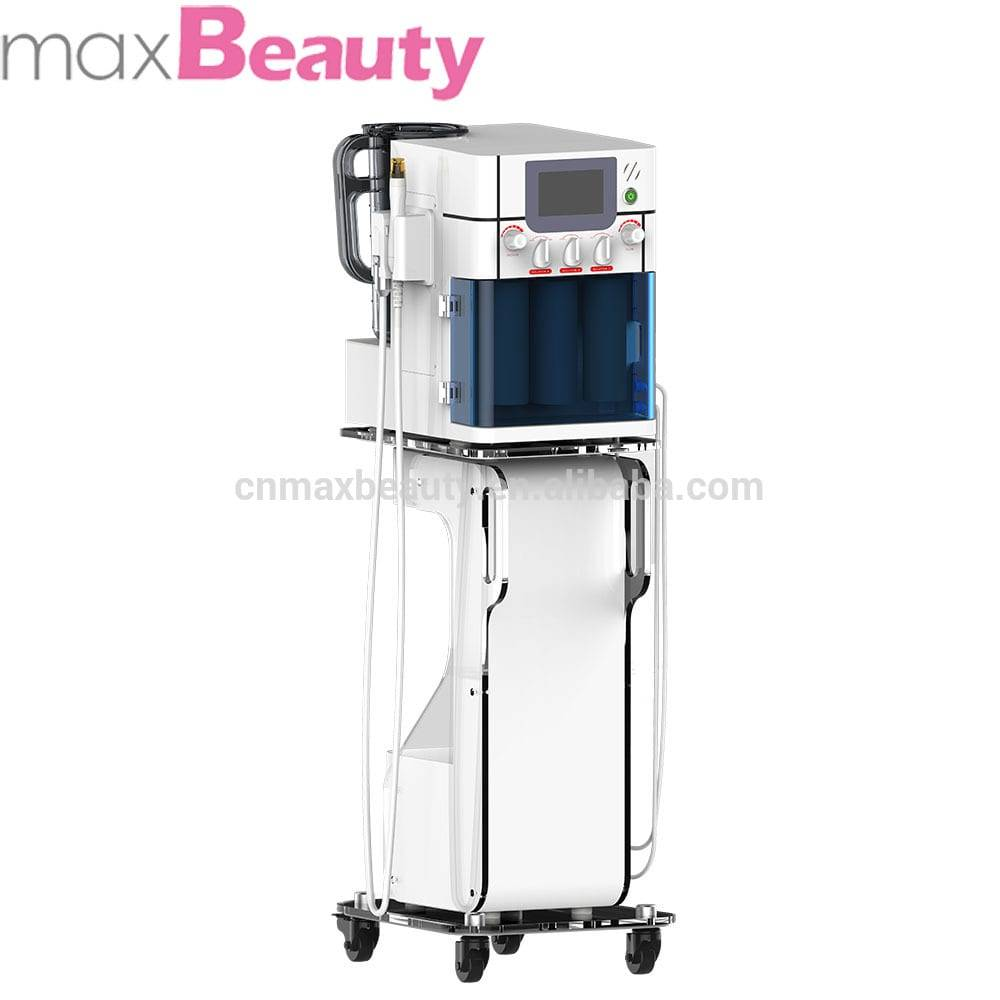 water facial and BIO beauty device for deep cleaning RF with Light oxygen jet for wrinkle Remover