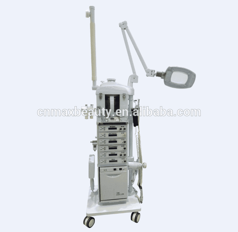 CE Certification and white color 17 in 1 facial machine Professional multifunctional beauty equipment