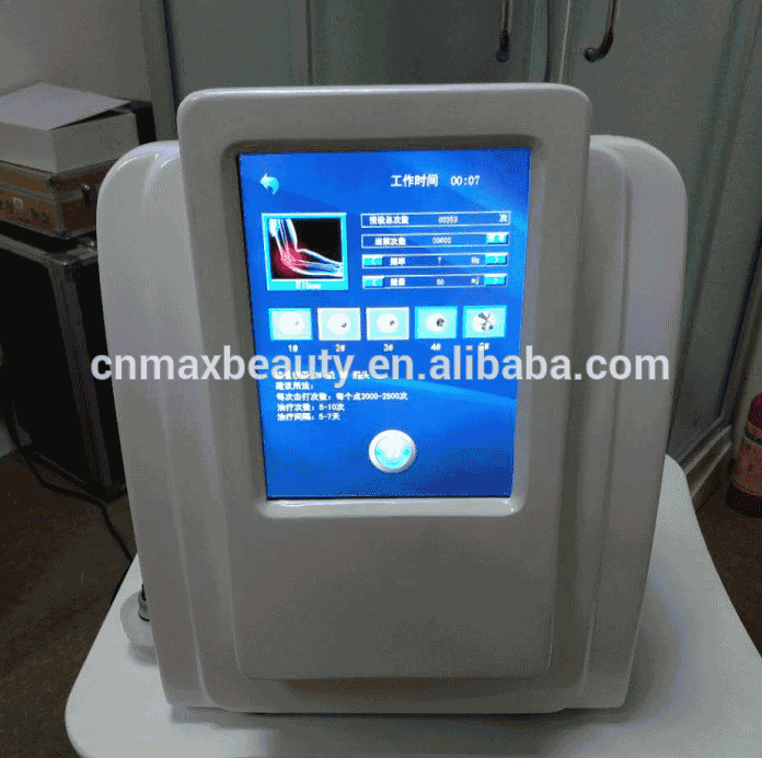desktop shock wave therapy equipment muscle pain relief shock wave for home and clinic use Featured Image