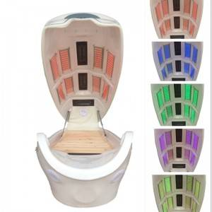8 lights led Infrared Capsule beauty equipment for slimming