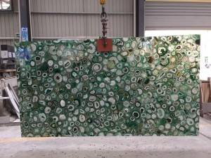 Factory wholesale Blue Agate Tile -