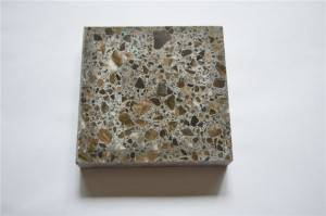DXW209 brown terrazzo kitchen top