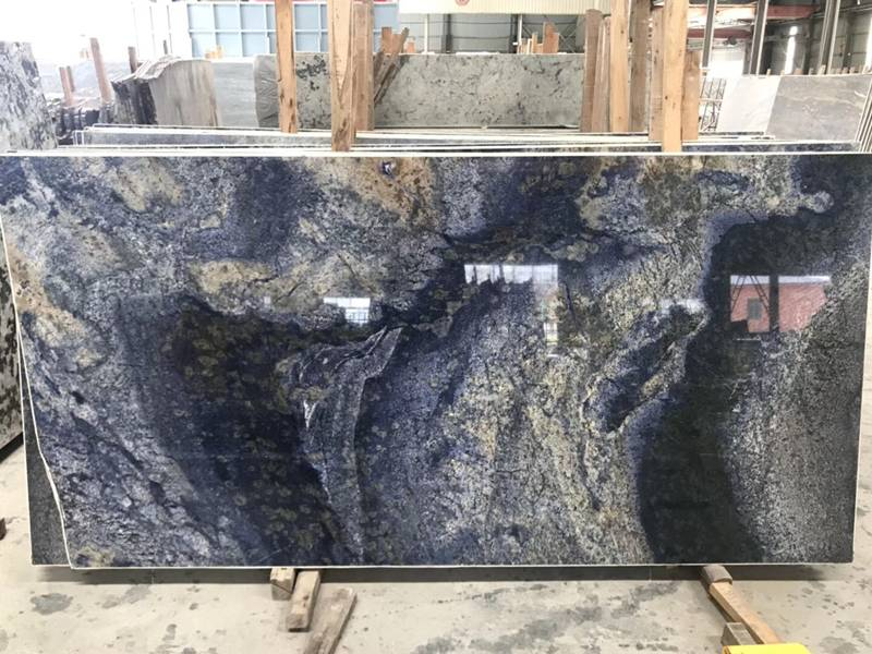 Azul Bahia Blue Granite Countertop