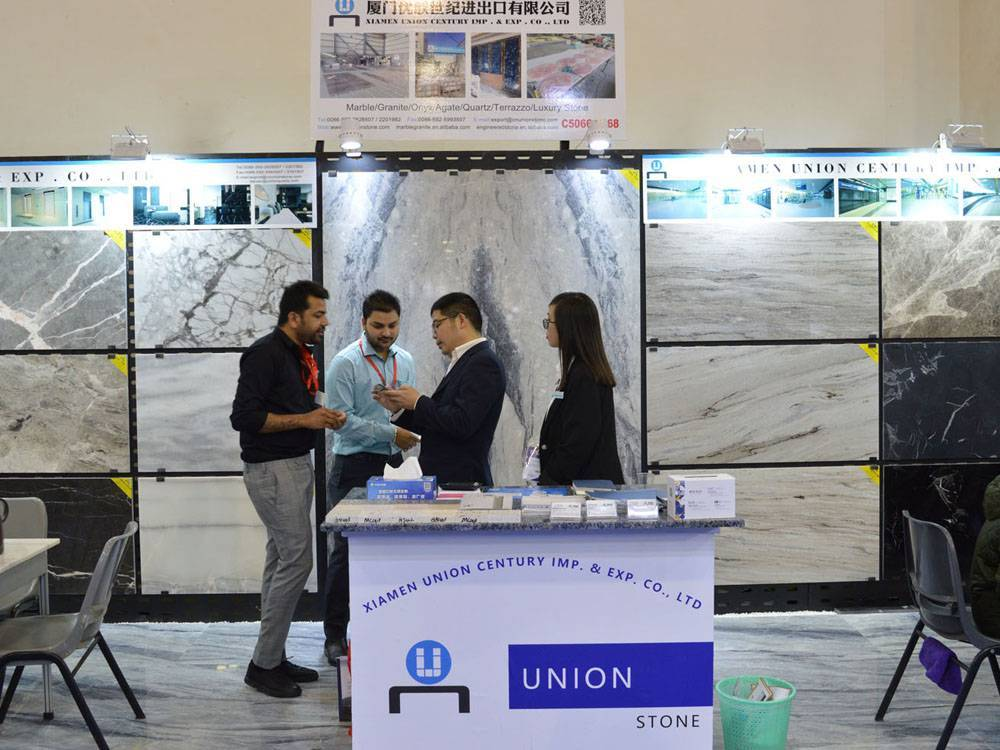 We Are útstalling op de 20ste China Xiamen International Stone Fair yn maart 2020