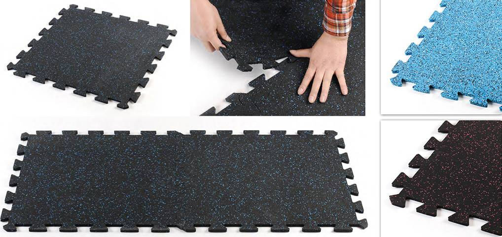 8mm interlocking tiles