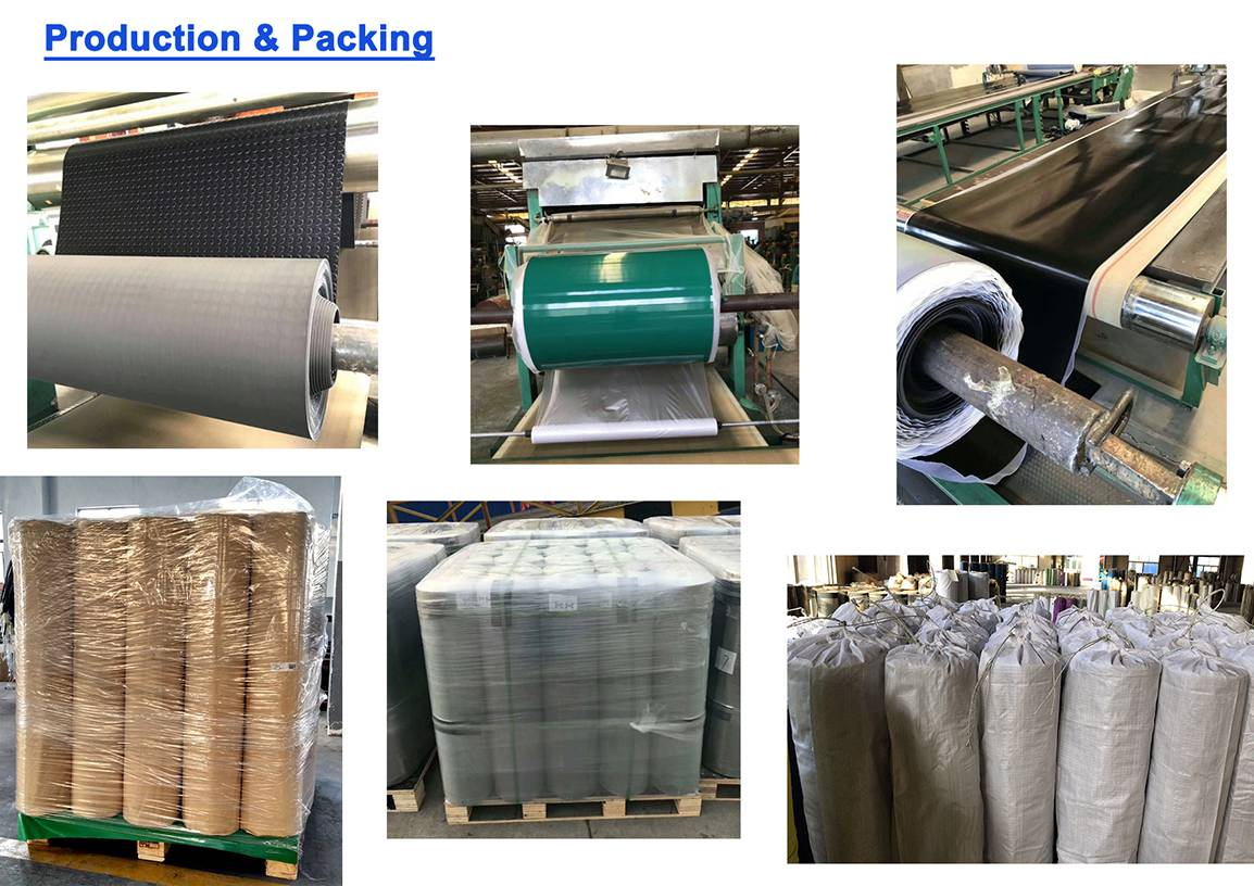 rubber sheet packing