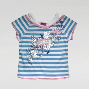 Cotton Shirt Girl Summer T Shirt Children Short Sleeve Tee Tops For Kids