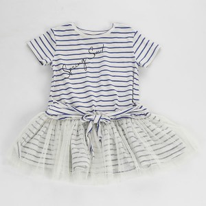 Cute Kids Clothing Dress Casual Baby Girl Dress Summer