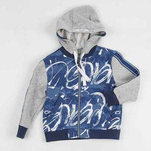 Groothandel Fashion Design Fleece Boy baadjie vir die winter NBHEY010