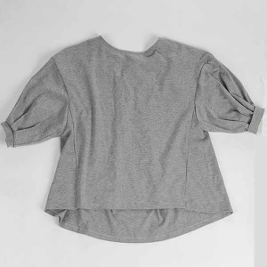 Supply OEM/ODM Ladies Long Sleeve Clothing Off Shoulder Tops