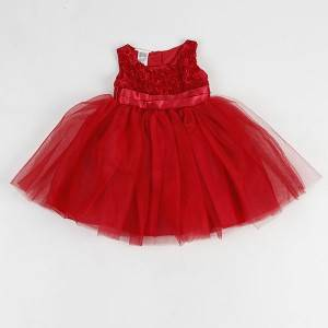 Day New Hoahoa o Valentine here Heart Printing Toddler Girls Boutique Clothing Kids Cotton Wear Kids Dress NBHEY031