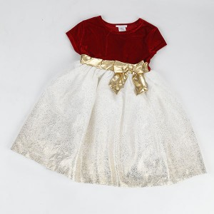 Hot new products kid clothes flower Birthday Children Baby Girls Party Dress Design NBHEY031