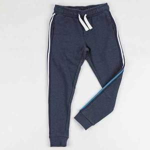 Bulk wholesale kids clothing boys patched pants soft knitted hip-hop trousers for doing sport