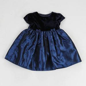 Ɛpo Day New Design Obiọma Heart Printing amụ ije Girls Boutique Clothing Kids Cotton Eyi Kids Dress NBHEY030