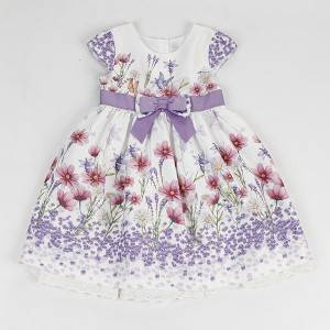 Latest design lovely fancy children baby girls autumn casual dress NBHEY028