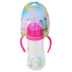 Wide neck feeding bottle BX-8204