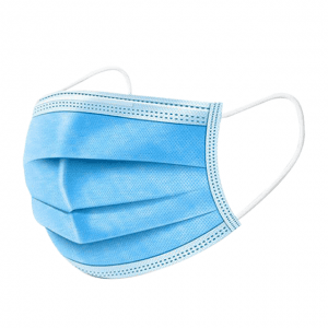 3/ply Manufacturer Chinese Disposable Nonwoven Disposable Face Mask