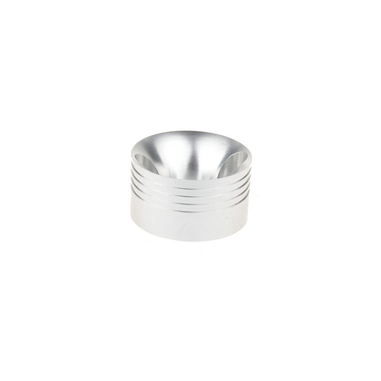 Aluminum Bell Mouth Raw Material Metal Processing Machinery Parts For custom cnc machining parts