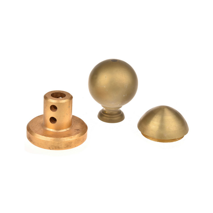 Custom Made copper casting parts with machining