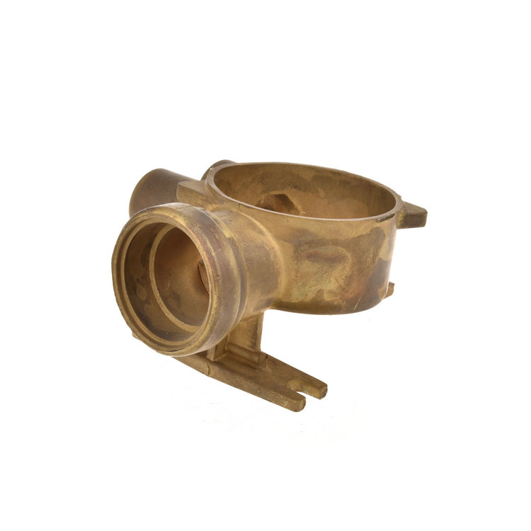 Custom Made brass casting parts with machining