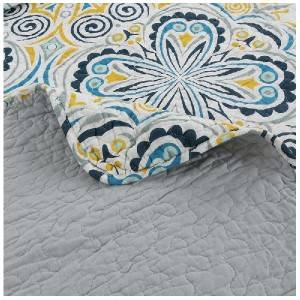 100%cotton/European-style pattern/ 120g PP filling/ultra Sonic sewing,A & B printing/A three-piece/Bedding Series-805-01