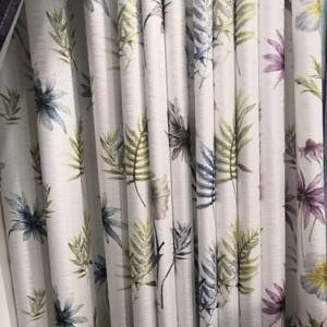 150gsm Bamboo-hemp digital printing/Curtain Series-707-12