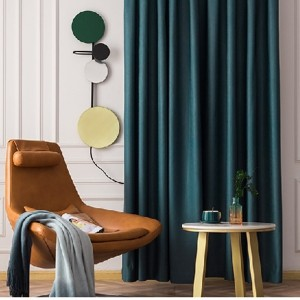 350GSM high tight shade cloth curtain is suitable for bedroom living room/Curtain Series-HS11484