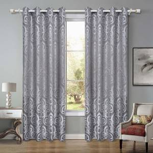 140GSM jacquard curtain is suitable for living room and bedroom/Curtain Series-201214