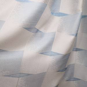 250GSM High-grade polyester jacquard curtain fabric, three – dimensional square, suitable for living room, bedroom/Curtain Series-707-7