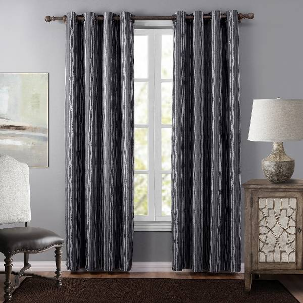 2020 new polyester jacquard curtain, suitable for living room and bedroom/Curtain Series-201215 Featured Image
