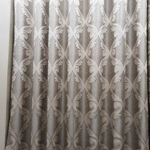 250GSM High-grade polyester jacquard curtain fabric, suitable for living room, bedroom/Curtain Series-707-8