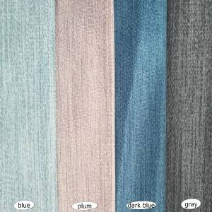100%Blackout 4 pass 430GSM for bedroom, balcony with texture jacquard curtains/Curtain Series-HS11362