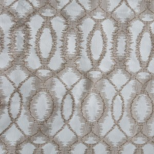 150GSM Ellipse  jacquard fabric is suitable for living room and bedroom/Curtain Series-HS11527