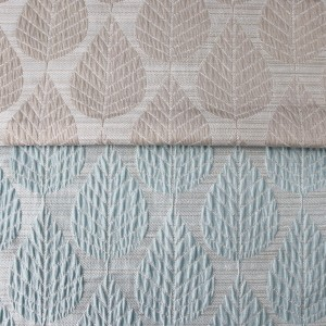 200GSM 2 color Leaf jacquard for living room, bedroom,Wrinkle Jacquard/Curtain Series-HS11534