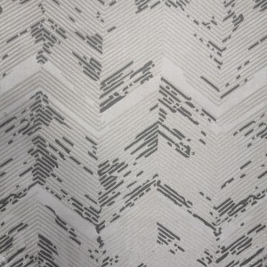 350GSM high compact geometric jacquard, high end custom curtain, suitable for living room and bedroom/Curtain Series-HS11538