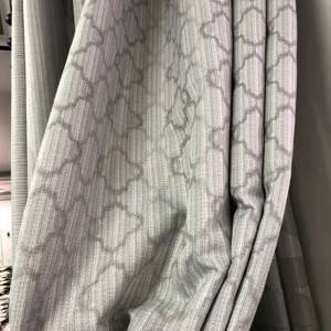 210GSM geometric jacquard fabric/curtain fabric, suitable for living room, office, bedroom jacquard curtains/Curtain Series–HS11688