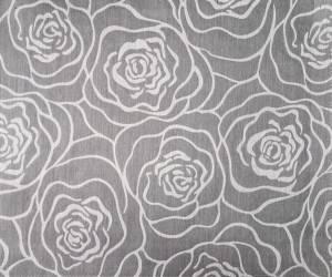 Rose jacquard gauze curtain for living room, bedroom, jacquard/curtain series-HS11729