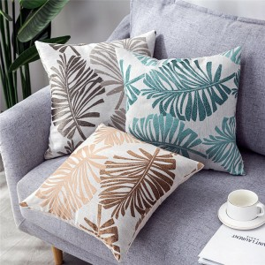 Chenille jacquard cushion, pillow-Pillow Series-HS21565